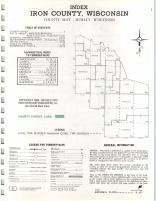 Index Map, Iron County 1973